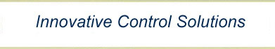 Thank you for visiting the Innovative Control Solutions website